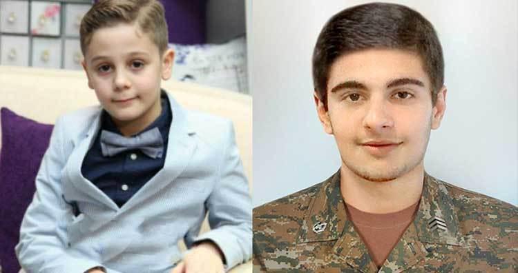 Ադամ Սահակյանի 8-ամյա եղբոր հեղինակած բանաստեղծությունը՝ նվիրված Հերոս Ադամի հիշատակին